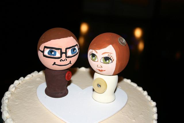 Figurka na tort weselny (3)