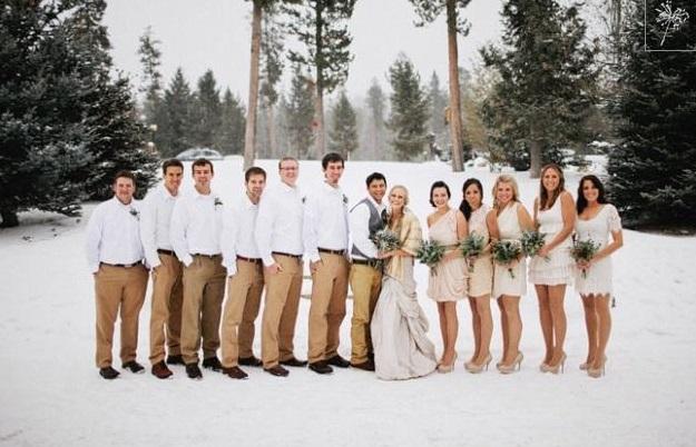 Ślub zimą 8