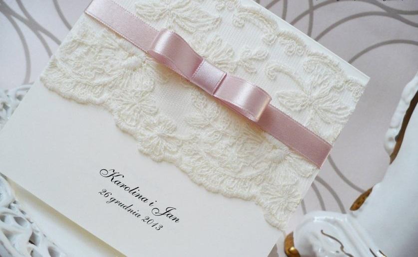 Zaproszenia ślubne 1