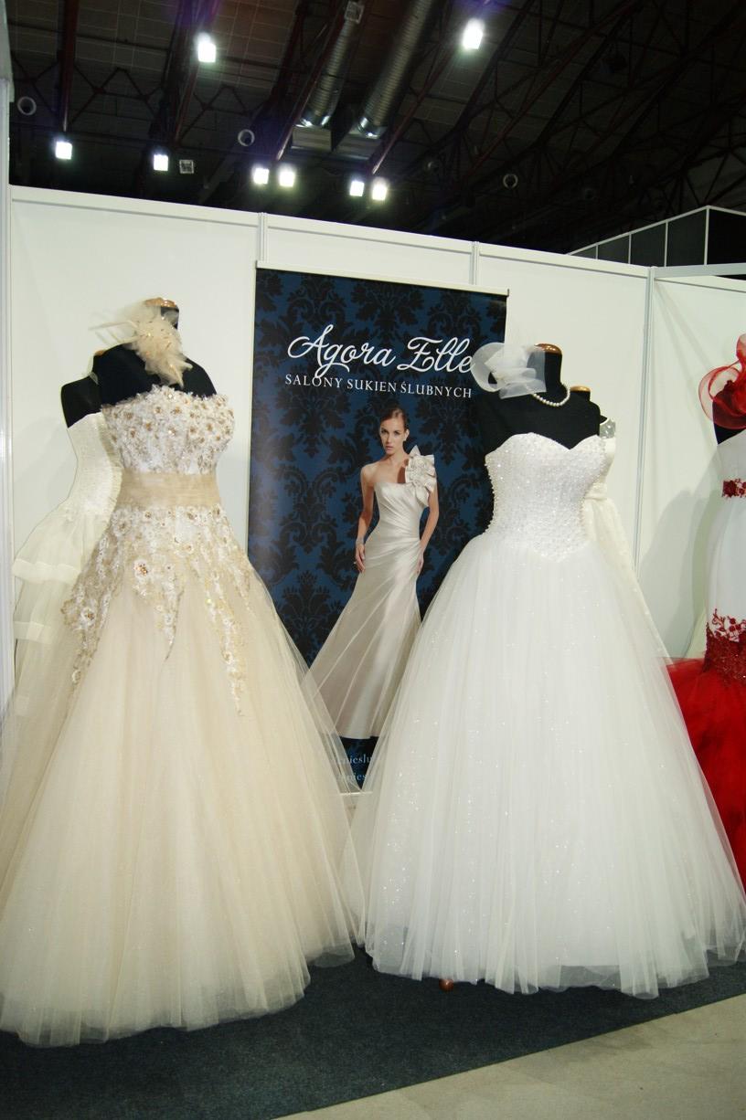Salon sukien ślubnych AGORA i Elle 1