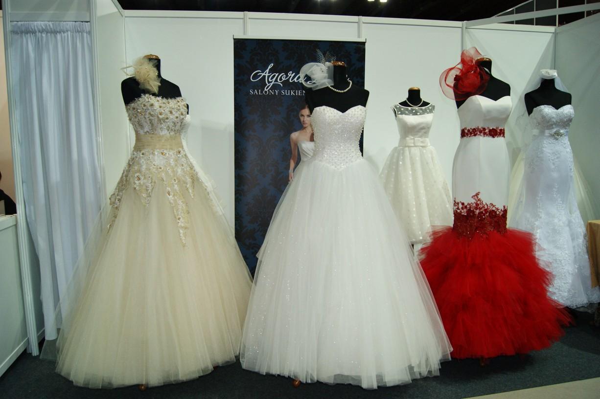 Salon sukien ślubnych AGORA i Elle 4