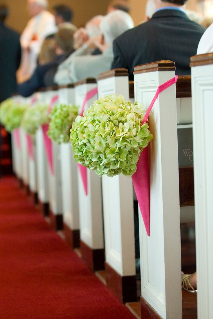 Ślub - dekoracje kościoła