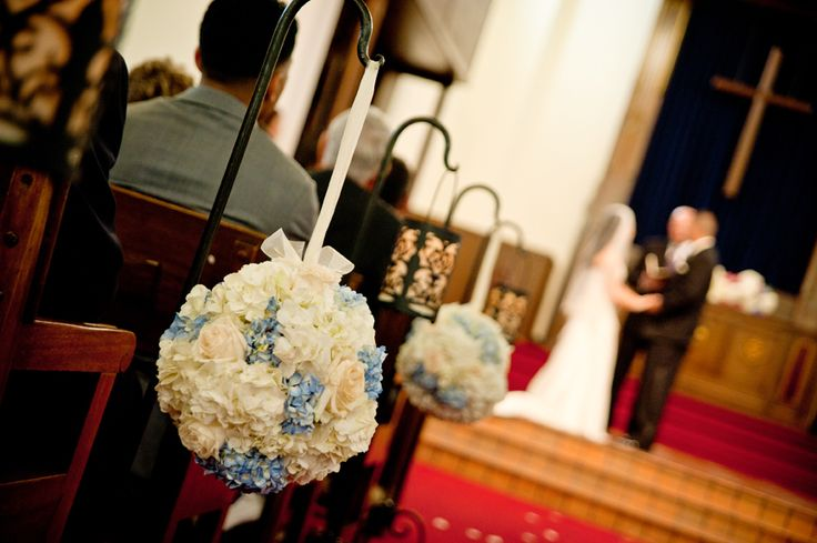Ślub - dekoracje kościoła 2