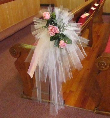 Ślub - dekoracje kościoła 5
