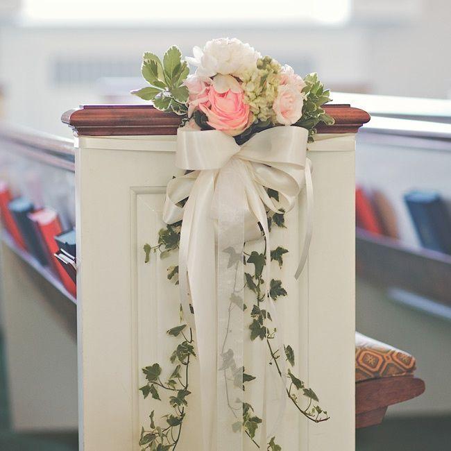 Ślub - dekoracje kościoła 6