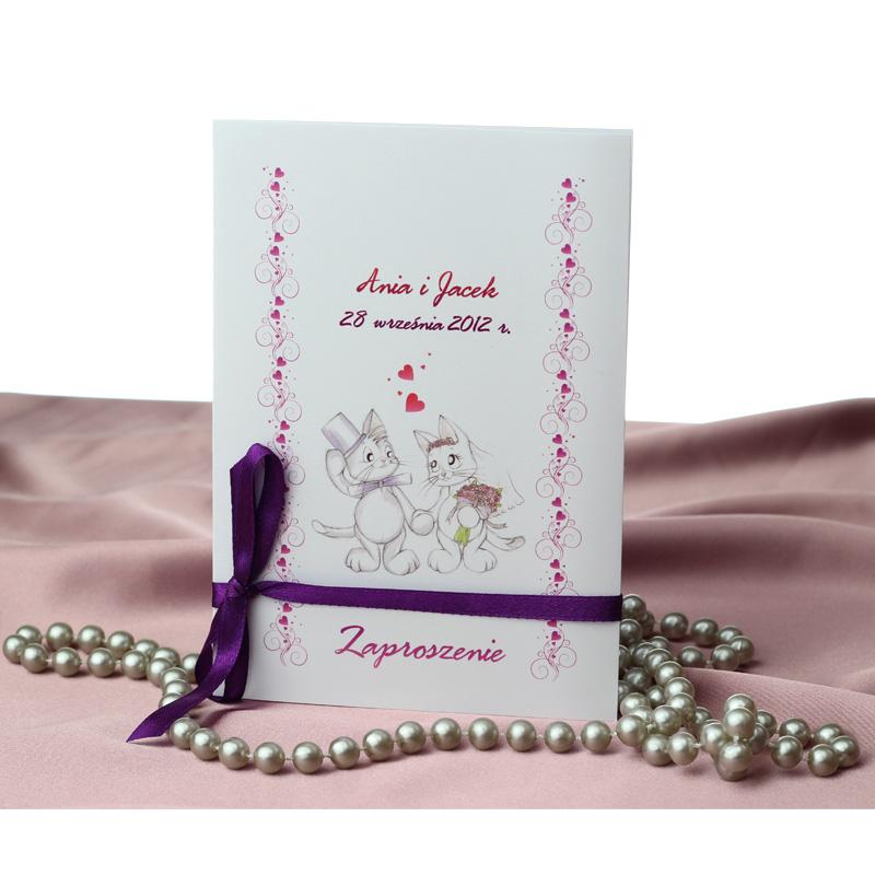Zaproszenia ślubne, a charakter przyjęcia weselnego 10