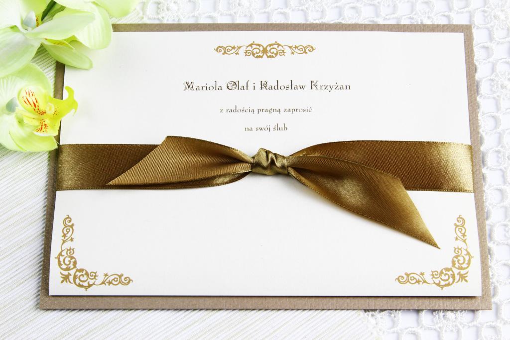 Zaproszenia ślubne, a charakter przyjęcia weselnego 11