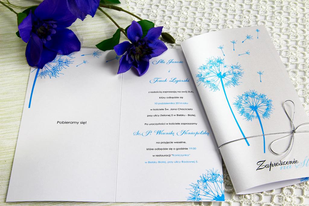 Zaproszenia ślubne, a charakter przyjęcia weselnego 4