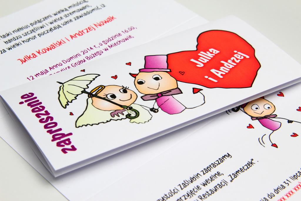 Zaproszenia ślubne, a charakter przyjęcia weselnego 9