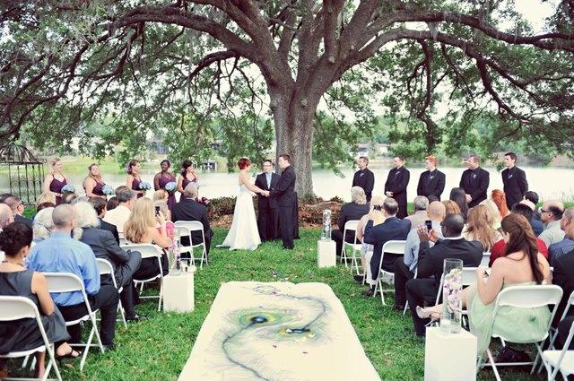 Baśniowy ślub w plenerze 2