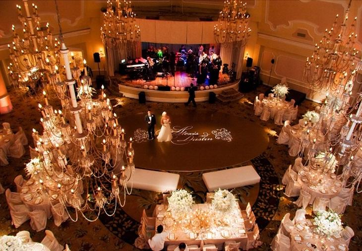 Przyjęcie weselne w hotelu 6
