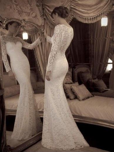 Suknia z koronkami 9