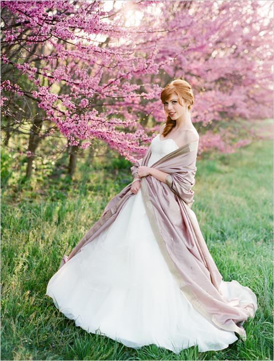 Wiosenna sesja Panny Młodej