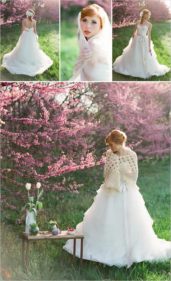 Wiosenna sesja Panny Młodej 1