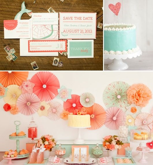 Mięta - kolorem ślubu i wesela