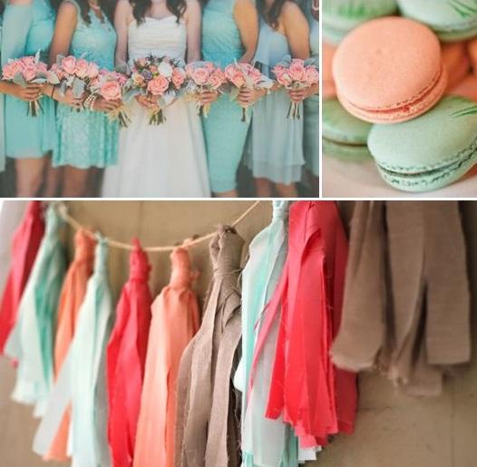 Mięta - kolorem ślubu i wesela 1