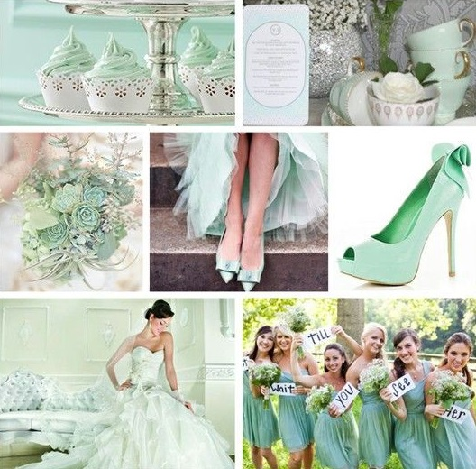 Mięta - kolorem ślubu i wesela 3