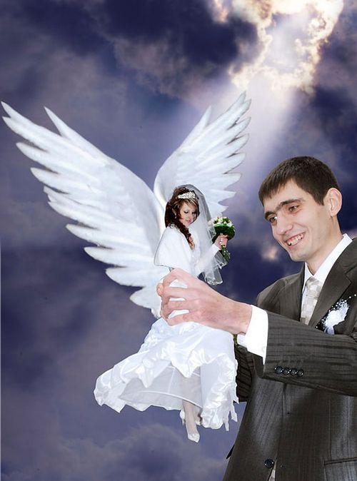 Rosyjskie zdjęcia ślubne