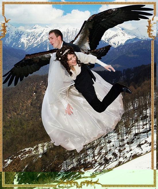 Rosyjskie zdjęcia ślubne 21