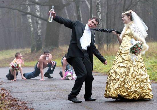 Rosyjskie zdjęcia ślubne 23
