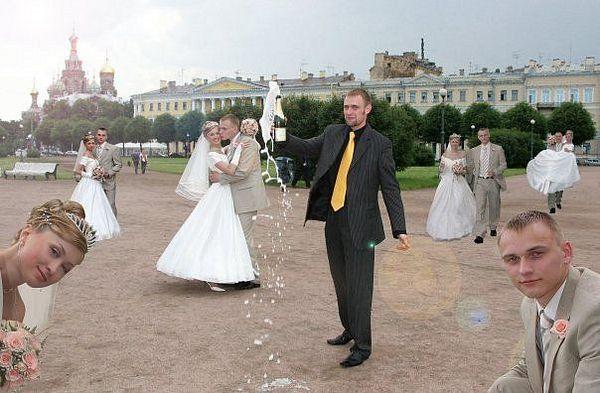 Rosyjskie zdjęcia ślubne 5