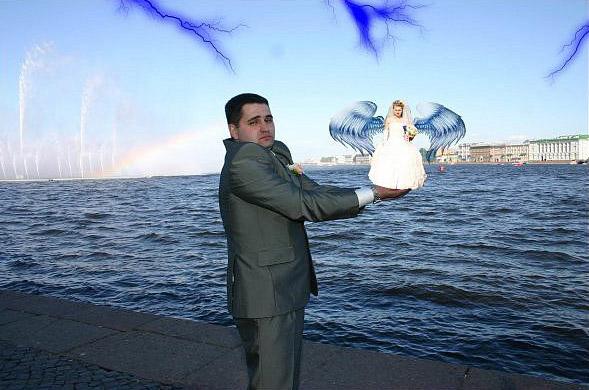 Rosyjskie zdjęcia ślubne 8
