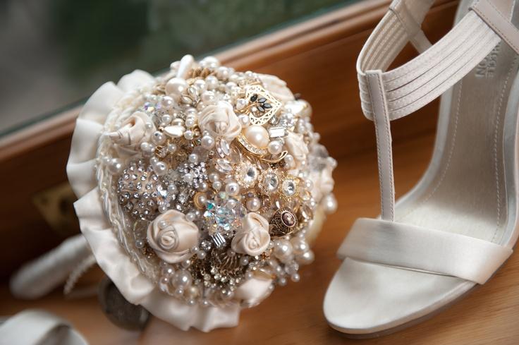 Bukiety ślubne - z czego
