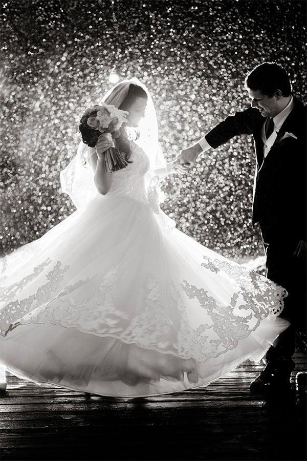 Deszcz w dniu ślubu 1