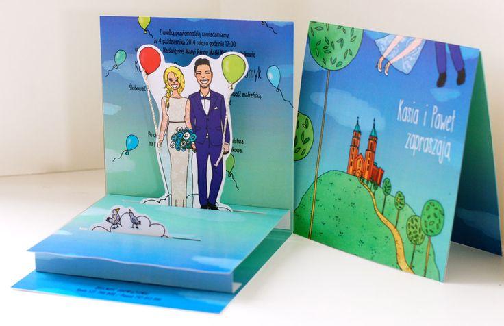 5 pomysłów na zaproszenie ślubne (2)