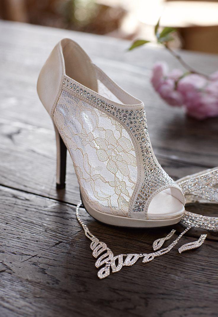 Ślubne trendy 2015 – buty dla panny młodej