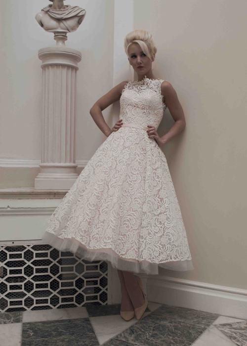Krótkie suknie ślubne (10)