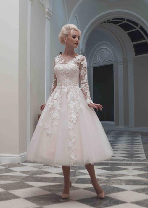 Krótkie suknie ślubne (11)