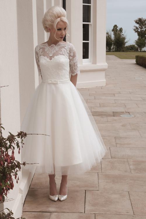 Krótkie suknie ślubne (15)