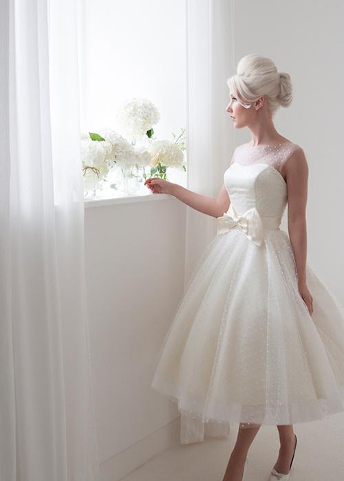 Krótkie suknie ślubne (2)