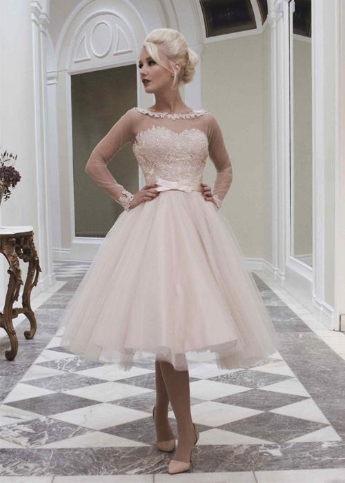 Krótkie suknie ślubne (5)