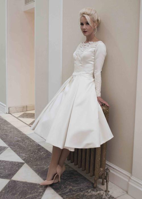Krótkie suknie ślubne (7)