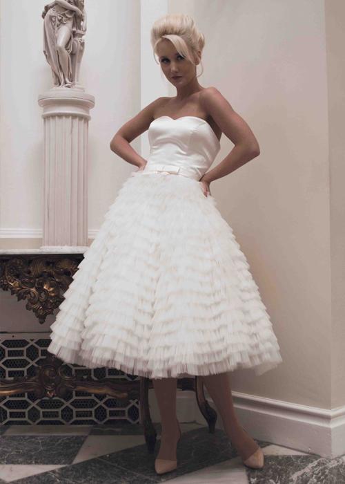 Krótkie suknie ślubne (9)