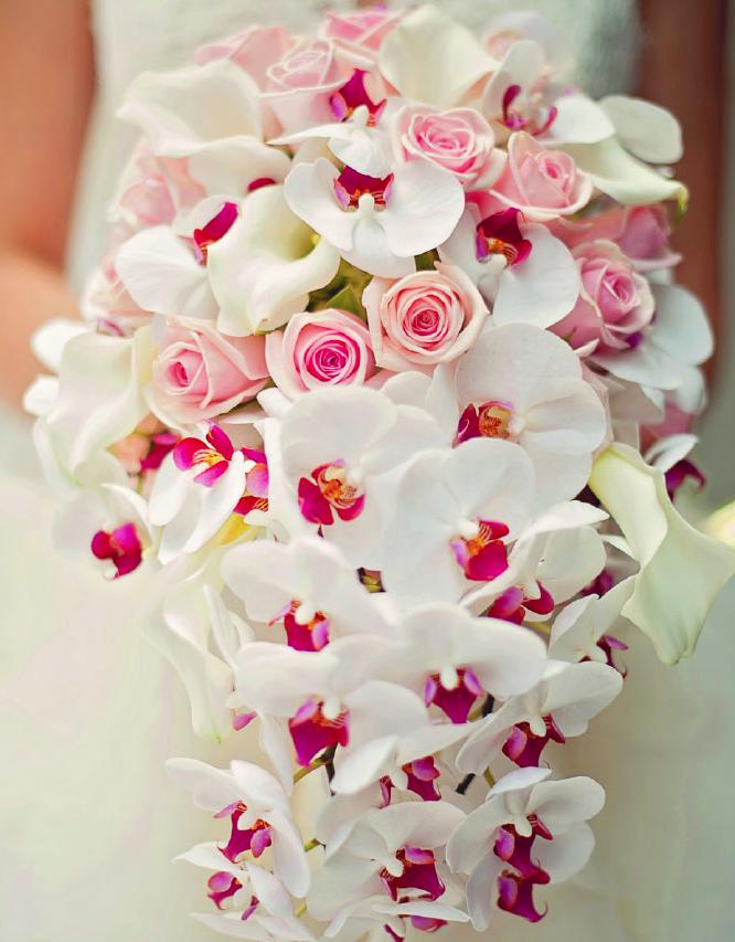 Bukiety ślubne ze storczyków (2)
