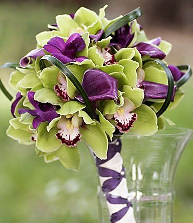 Bukiety ślubne ze storczyków (4)