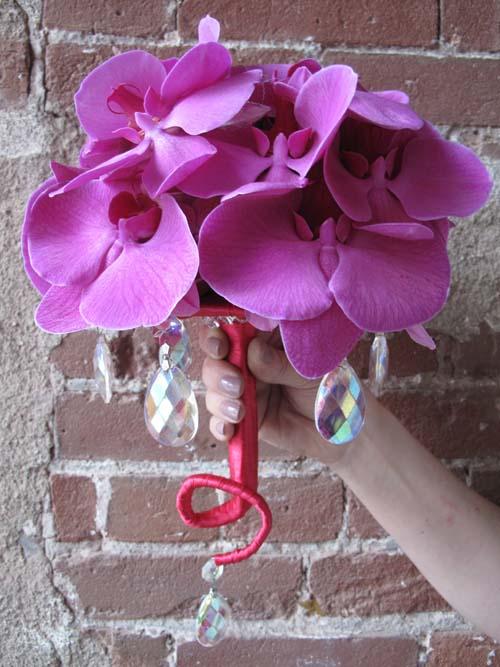 Bukiety ślubne ze storczyków (6)