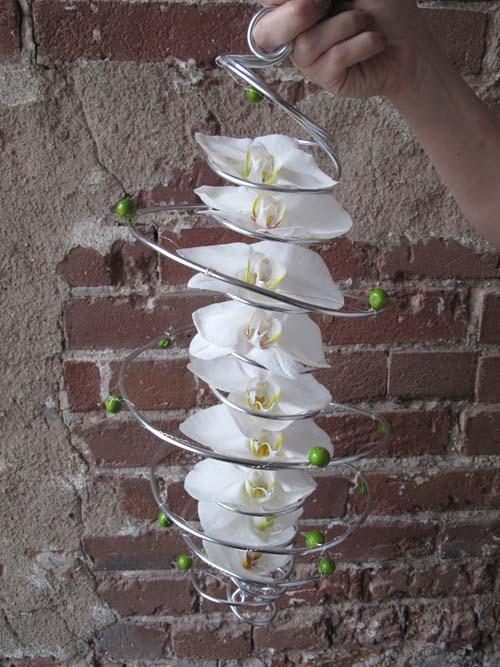 Bukiety ślubne ze storczyków (7)
