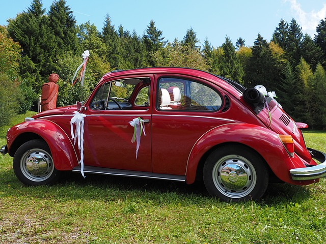 Dekoracje na auto do ślubu (3)