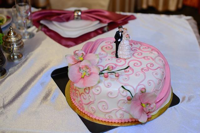 Pudrowe wesele - motyw różu (1)