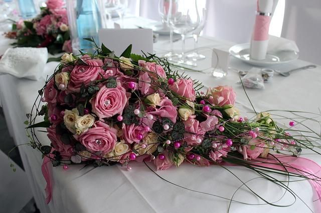 Pudrowe wesele - motyw różu (3)