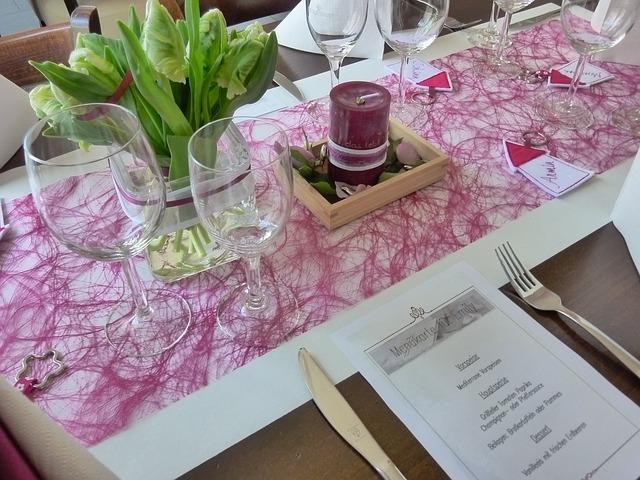 Pudrowe wesele - motyw różu (6)