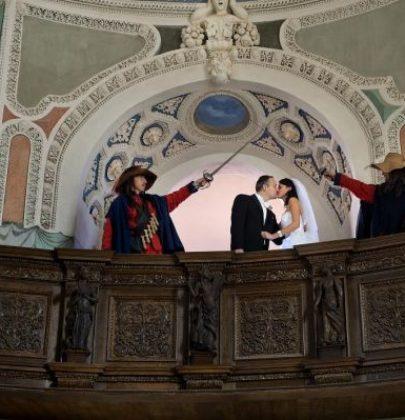 Bajkowa sceneria, czyli ślub i wesele na zamku.