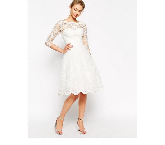 Sukienka na ślub cywilny 1