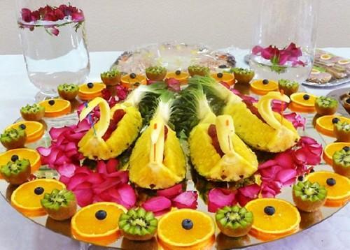 Dekoracje z owoców 4
