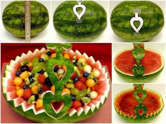 Dekoracje z owoców 5