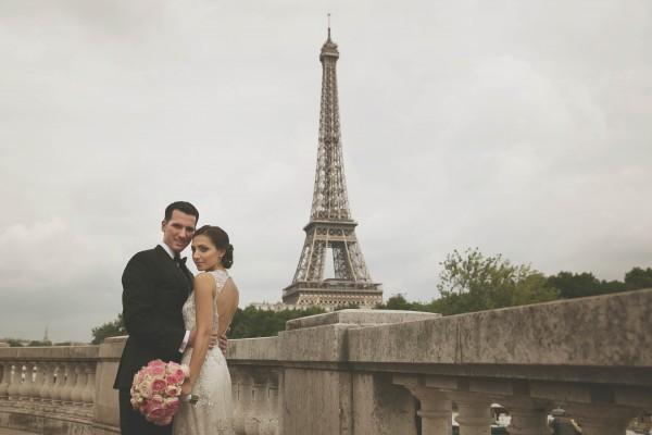 Sesja ślubna w Paryżu 1